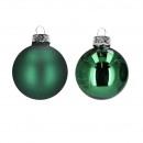 Boule d'arbre D60mm, 30 pièces / boîte, vert f